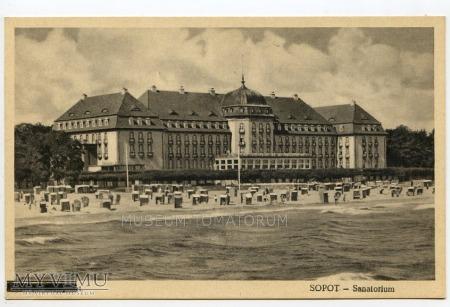 Sopot Grand Hotel - przed 1945