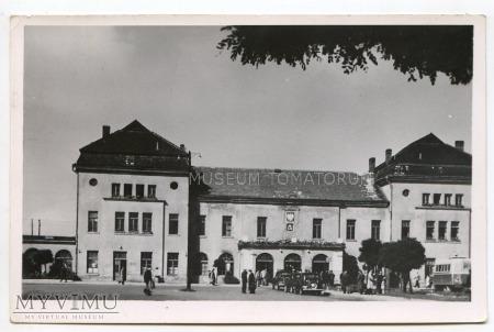Kielce - Dworzec Kolejowy - lata 50-te