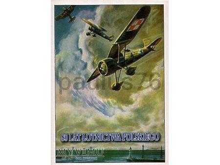 80. lat Lotnictwa Polskiego, PZL P.24