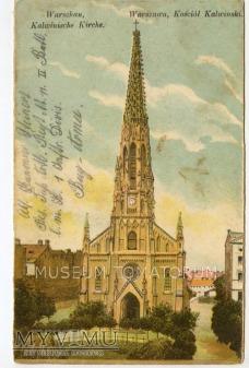 W-wa - Kościół ewangelicko-reformowany - 1915