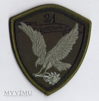 Emblemat 21 Kompania Rozpoznawcza
