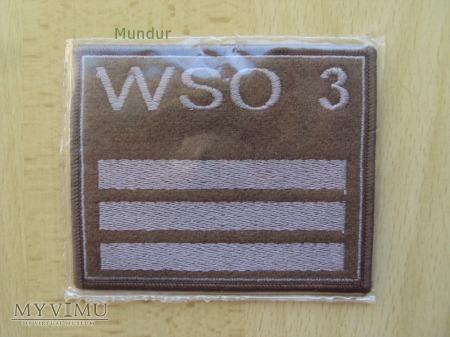 Oznaka stopnia na kurtkę - WSO 3