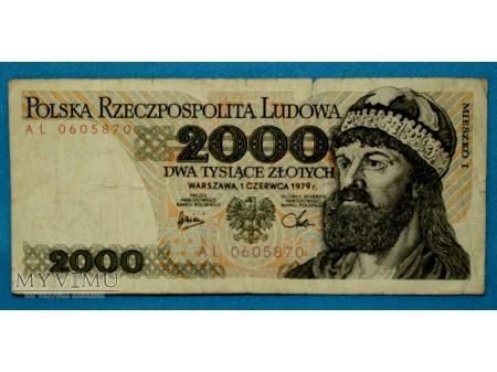 2000 zlotych 1979