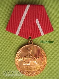 "Duże zdjęcie Medal brązowy ""Für treue Dienste"""