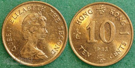 Hong Kong, 10 CENTS 1983