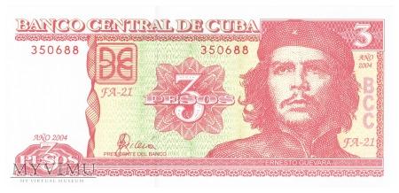 Kuba - 3 pesos (2004)