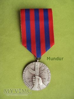 Medal: zasloužilý bojovník proti fašismu