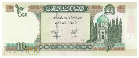 Afganistan - 10 afgani (2004)