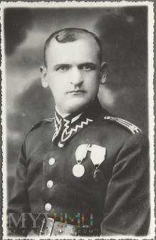 Starszy wachmistrz Teofil Milewicz z 25 P. Ułanów