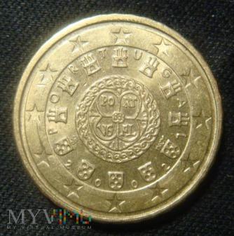 10 centów - Portugalia 2002