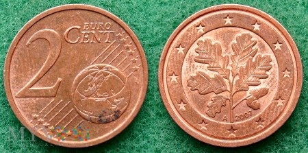 2 EURO CENT 2007 A