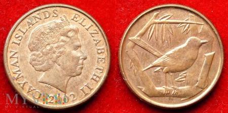 Kajmany, 1 Cent 2002