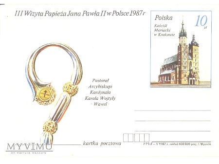 III WIZYTA PAPIEŻA JANA PAWŁA II W POLSCE 1987 4