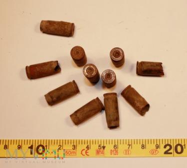 Łuski z amunicji funkcjonariuszy UB
