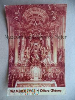WAMBIERZYCE - Ołtarz Główny