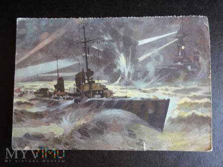 Kartka Pocztowa - kuter torpedowy