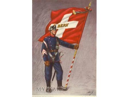 Dawny mundur wojskowy z kantonu Berna