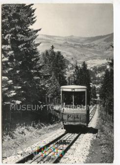 Krynica - Kolejka na Górę Parkową- lata 60-te