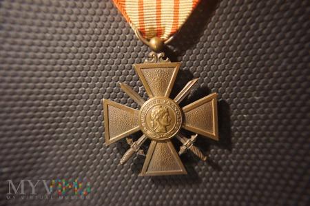 Francuski Krzyż Wojenny 1939 z Gwiazdą