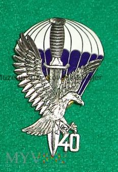 40 lat 62 KS Commando - odznaka srebrna