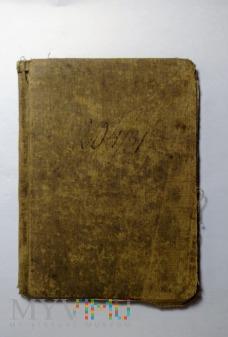 Książeczka wojskowa 1931 r