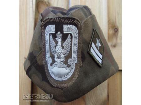 Mundur polowy Sił Pow. z koszulo-bluzą i furażerką