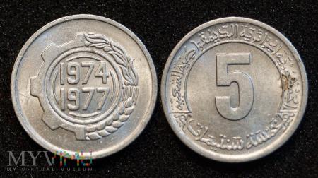 Algieria, 5 centimes 1974