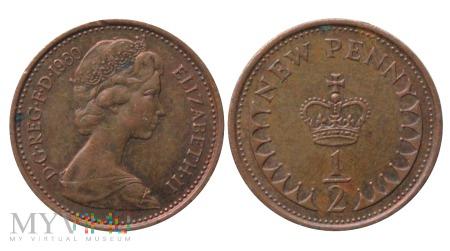 Wielka Brytania, half penny 1980