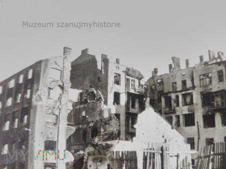 zniszczone kamienice 1939