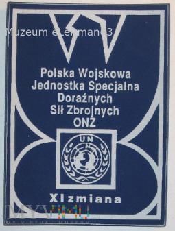 Polska Wojskowa Jednostka Specjalna XI zm.