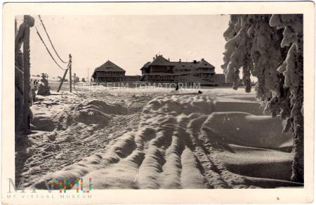 Karkonosze - schr. Na Hali Szrenickiej - 1954