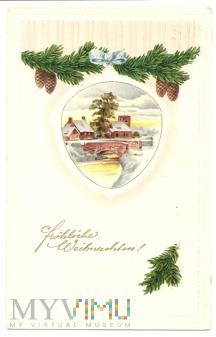 Duże zdjęcie Wesołych Świąt Bożego Narodzenia.20.12.1914.a