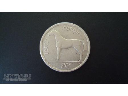 1955 Irish halfcrown (two shillings and six pence)