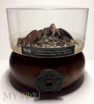 Skarb monet żelaznych - diorama