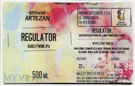Artezan Regulator