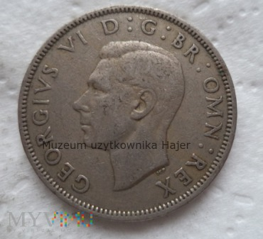 Two shillings - 1948 rok - Wielka Brytania