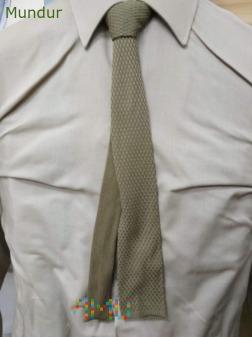 Krawat khaki szeregowych Wojsk Lądowych