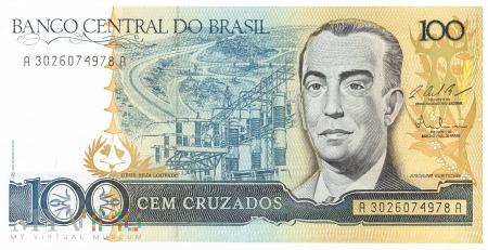 Brazylia - 100 cruzados (1987)