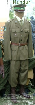 Kapral ZSW WOP w mundurze wyjściowym