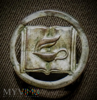 Odznaka szkolna II RP.