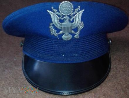 USAF service cap - officers, warrant officers