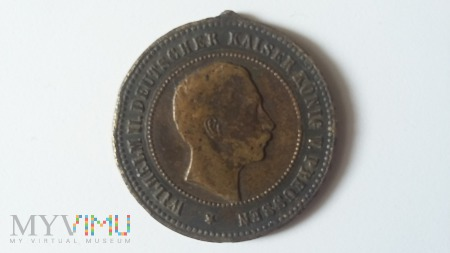 Medal Willhelm II Kaiser 1892