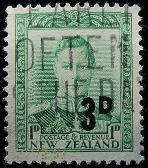 Nowa Zelandia 1D-3D Jerzy VI