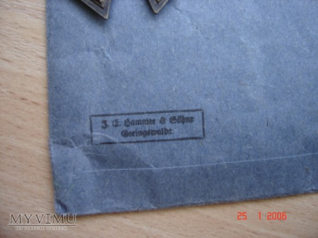 Krzyż Żelazny 2 klasy 1939