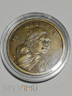 Duże zdjęcie USA 1 dolar, 2000r. D