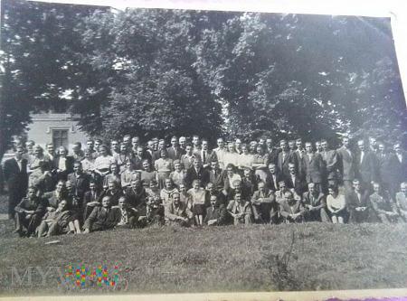 Młodzież z Czermina i okolic- lata przedwojenne