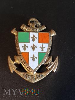 Odznaka 11 Pułku Artylerii Kolonialnej - Francja