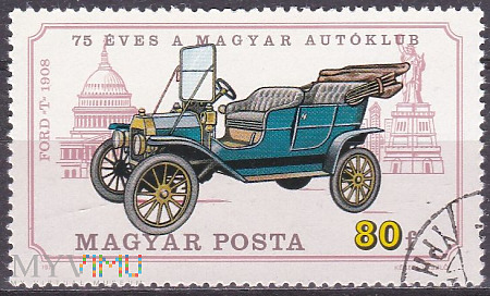 Model T Ford, 1908