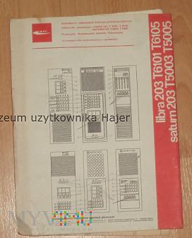 Libra 203 , Saturn 203 - telewizor schematy 1979