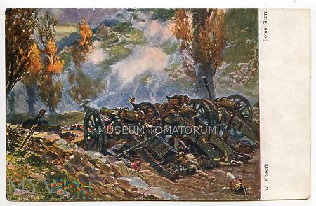 Kossak - Bitwa pod Samosierą w 1808 r.